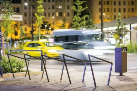 edgetyre, STE, STE410, bicycle stand, design: David Karasek, Radek Hegmon, Hungary, Budapest, Szell Kalman