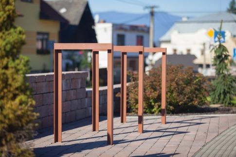 lotlimit, bicycle stand, SL, design: David Karasek, Radek Hegmon, Slovakia, Ladomerska Vieska
