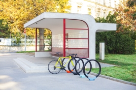 gomez, GMZ, bicycle stand, Design: David Karasek, Czechia, Brno