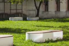 urban islands, UIS, seating object, design: Lucie Koldova, Dan Yeffet, Slovakia, Martin