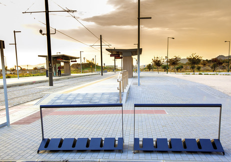 velo, bicycle stand, VL, design: David Karasek, Radek Hegmon, Spain, Malaga