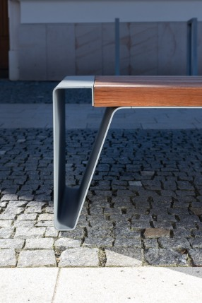 radium, LRA, LRA130, park bench, design: David Karasek, Radek Hegmon, Czech Republic, Zlin