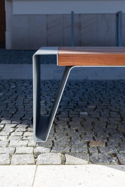 radium, LRA, LRA130, park bench, design: David Karasek, Radek Hegmon, Czech Republic, Zlin