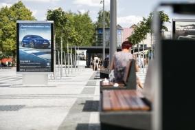 IF, c-light IF, info case, design: David Karasek, Radek Hegmon, Czech Republic, Pardubice, Hlavni nadrazi, main station