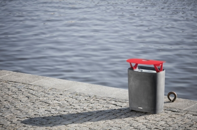 better, BTT, BTT302, litter bin, design: David Karasek, Czech Republic, Prague, Naplavka